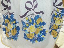 TRUE  Vintage     Apron    with   Yellow Roses