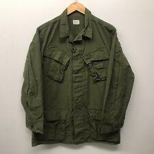 Vintage Jungle Fatigue Shirt / Rip-Stop, Size Small/Regular, Us Army J-95