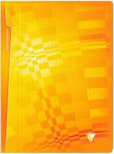 Clairefontaine Metric 203361 C Notizheft 24 x 32 cm 96 Seiten großkariert orange