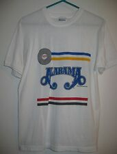 Alabama Band T-Shirt Just Us copyright 1987 Wild Country, Inc L see measurements