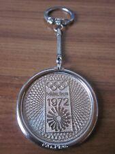 Olympische Spiele 1972 München Schlüsselanhänger Metall Durchmesser 45mm