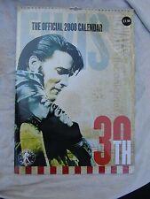 ELVIS CALENDAR 2008 official 30th New & Sealed still