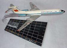 BIG Rare Russian Soviet Desk Souvenir metal model TU 134 AEROFLOT Airplane USSR