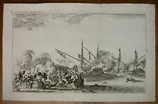 COLLIGNON `SEESCHLACHT; GALEEREN, SEA BATTLE´ STEFANO DELLA BELLA, DV 816, 1639