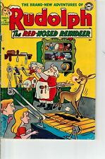 RUDOLPH THE RED-NOSED REINDEER #1 (nn) 1950 NICE - SCARCE DC COMIC - CHRISTMAS