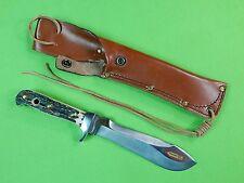 German Germany PUMA 1994-95 White Hunter Stag Hunting Knife & Sheath