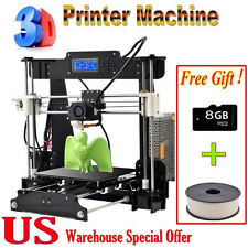 2017 Upgraded Reprap Tronxy 3D Printer MK8 extruder Prusa Mendel DIY Only VIP
