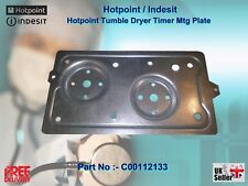 Hotpoint Tumble Dryer Timer Mtg Plate Part No:- C00112133 (J00142697)