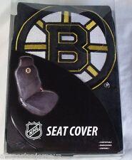 NHL NIB CAR SEAT COVER BY FREMONT DIE - BOSTON BRUINS