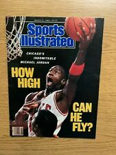1989 Michael Jordan complete Sports Illustrated no label Chicago Bulls HOF NBA