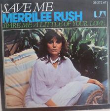 "7"" 1977 RARE IN MINT- ! MERRILEE RUSH : Save Me"