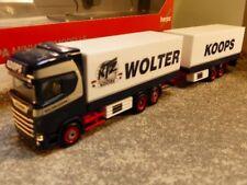 1/87 Herpa Scania CS HD Kühlkoffer HZ Wolter Koops NL 308946