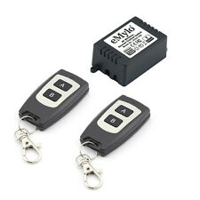 Relay Wireless Remote Control Switch Kit Toggle 2 Transmitter AC 220V 1CH