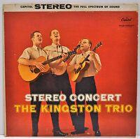 "THE KINGSTON TRIO   ""Stereo Concert""  1959 Vinyl LP   Capitol ST1183"
