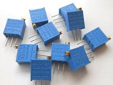 100 pcs 20K Ω ohm Mark 203 High Precision 3296 Variable Resistors RoHS