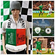 Republic of Ireland vs Germany Famous 1-0 (2016 Euro Qualifier) Football Scarf