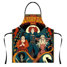 Halloween Aprons Kitchen Restaurant Womens Mens Decoration Cooking Vintage New