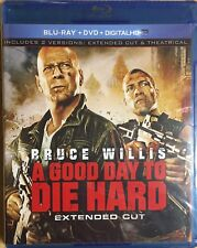 A Good Day to Die Hard (Blu-ray/Dvd, 2-Disc Set, Extended Cut No Digital Copy)