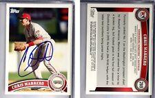Chris Marrero Signed 2011 Topps Pro Debut #269 Card Auto Autograph