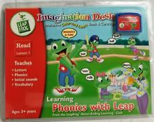 New Sealed Leap Frog Imagination Desk Phonics with Leap Read Lesson 1 Cartridge