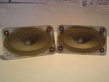 2 Stück Loewe Opta Breitband Hochton Lsp. 130x77mm Alnico 4Ohm guter Zustand