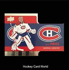 (HCW) 2015-16 Upper Deck Tim Hortons #TH1 CAREY PRICE Die Cut Hockey 01367