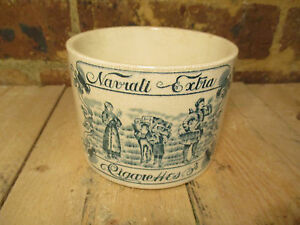 Collectable Navrati Extra Cigarette Jar. Late 1800s. early 1900s;