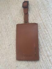 Hartmann Leather Luggage Bag Tag
