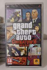 SONY PSP GTA CHINATOWN WARS ITALIANO NUOVO SIGILLATO SONY  GRAND THEFT AUTO