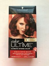 Schwarzkopf Ultime Permanent Hair Color Dye Cream 5.29 Vintage Red Flaming Reds