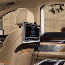 "🚘 2pcs Pair Android Headrest Player 10.1"" IPS HD Monitor WiFi Speaker BT FM"