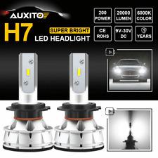 H7 LED Headlight Kit Bulbs Super Bright White Replace Plug&Play High Power Light