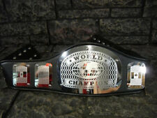 NEW! World Championship Belt King Adult Size Metal Plates wwe wcw ecw nwo SALE