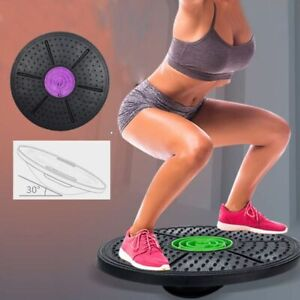 Yoga Balance Board Disc Stability Round Plates Exercise Trainer for Fitness Spor