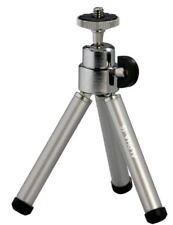 Cullmann Alpha 15 Ministativ mit Kugelkopf silber Kamerastativ Fotostativ
