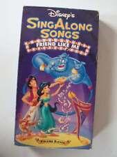 Disney Sing Along Songs Friend Like Me Volume Eleven VHS Video Tape