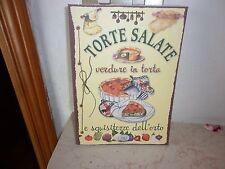 TORTE SALATE-EDIZIONI DEL BALDO - 1° EDIZIONE. - 2013 --A COLORI - CUCINA -