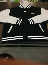 Ford Mens Mustang Varsity Jacket Coat With Removable Hoody