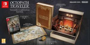 Octopath Traveler: Travelers Compendium Edition (Nintendo Switch) Factory Sealed