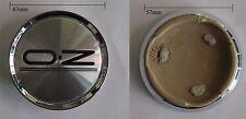 KIT 4 COPRIMOZZI CAPS BORCHIE CERCHI IN LEGA OZ diametro 63mm NUOVI 81310428