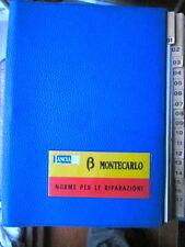 LANCIA BETA MONTECARLO TIPI 137 AS E 137 AS.6 SCORPION NORME PER LE RIPARAZIONI