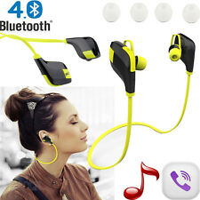 New Sports Bluetooth 4.1 Wireless Headphones Headset in ear with Microphone Call