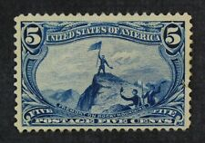 CKStamps: US Stamps Collection Scott#288 5c Unused Regum Tiny Thin