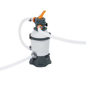 Bestway 58515 sand filter pump 3.028 SQM / H for pools from 1100 to 16000 liters