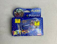 Polaroid Fun Shooter Party Pack Flash Disposable Camera 400 Speed 27 Sealed