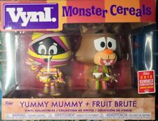 FUNKO 2018 Vynl. Yummy Mummy + Fruit Brute Monster Cereals Vinyl Collectible