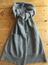 New Loro Piana Scarf With Pockets - 100% Cashmere