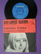 ANN LOUISE HANSON Svenska Flicka SWEDEN 45 PHILIPS 1969