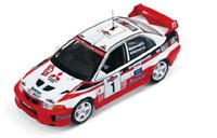 IXO RAM521 Mitsubishi Lancer Evo 1998 Rally Sanremo 1:43 Scale
