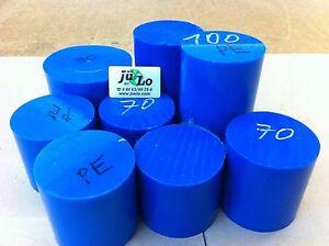 PE Blau Reststücke 5kg Rund Polyethylen Bastlerbedarf